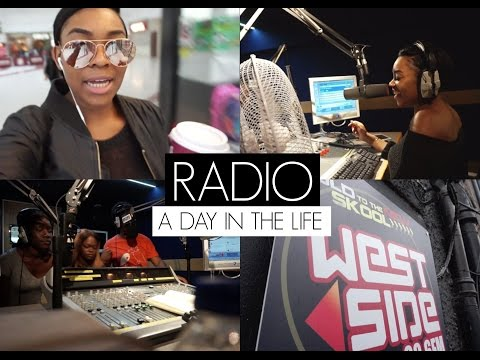 #VLOG: A DAY IN THE LIFE OF A RADIO PRESENTER! | TIMEFORTEE