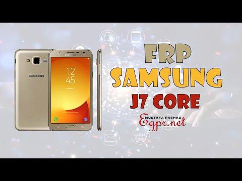 تخطي حساب جوجل لهاتف Samsung Galaxy J7 Core Sm J701f Ds