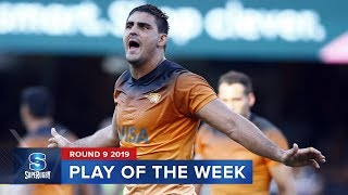 PLAY OF THE WEEK | Super Rugby 2019 Rd 9