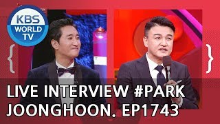 Live Interview with Park Joonghoon [Entertainment Weekly/2018.12.24]