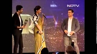 NDTV Indian of the Year - Ranbir and Deepika