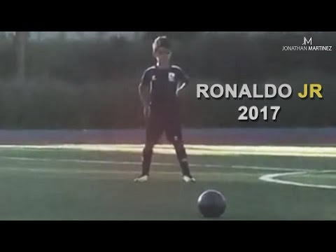 Cristiano Ronaldo Jr ● Playing Football 2017