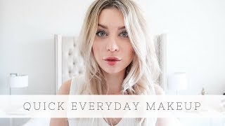 Quick Everyday Makeup Feat. NARS NARSissist Wanted Cheek Palette I | Joëlle Anello