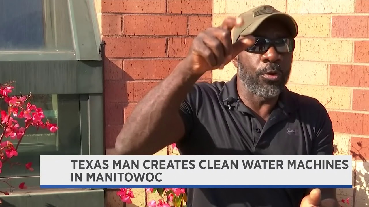 Texas man builds Atmospheric Water Generators for Flint - PKG
