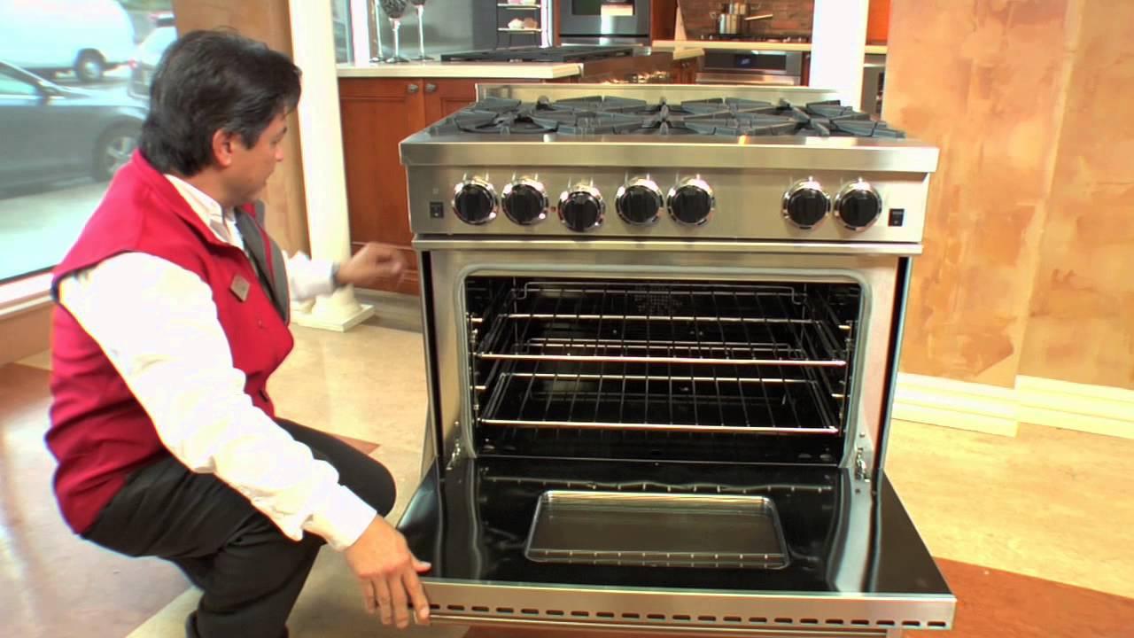 Bluestar 36 Pro Style Gas Range You