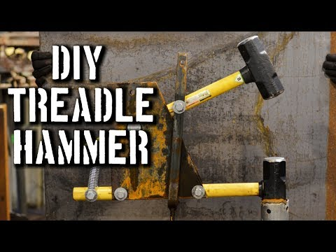 DIY Treadle Hammer: PDF PLANS for Treadle Hammer