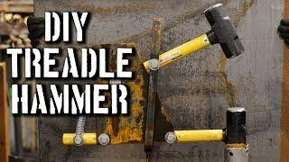 DIY Treadle Hammer: PDF PLANS for Treadle Hammer