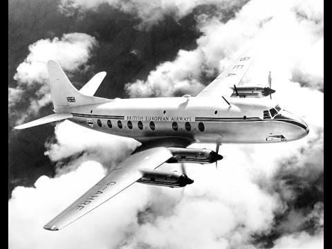 Turbo-Prop Tour - Britain takes a new step in civil aviation - March 1950
