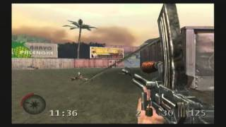 Medal of Honor Rising Sun Multiplayer Gameplay (PS2)