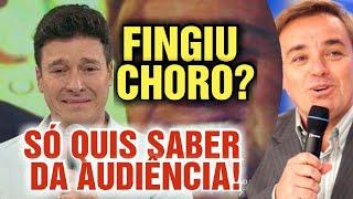 Rodrigo Faro é acusado de fingir choro por causa de Gugu