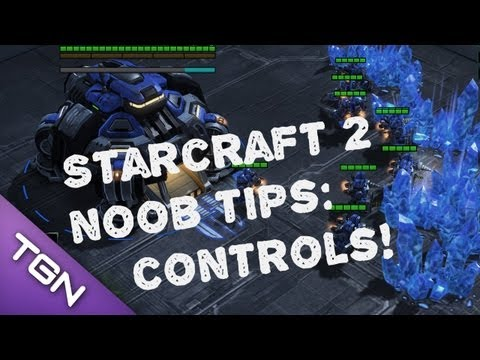 Starcraft 2 Noob Guide - Basic Control Tips
