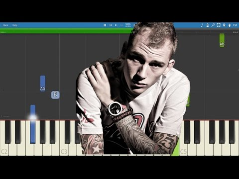 Machine Gun Kelly - Alpha Omega - Piano Tutorial