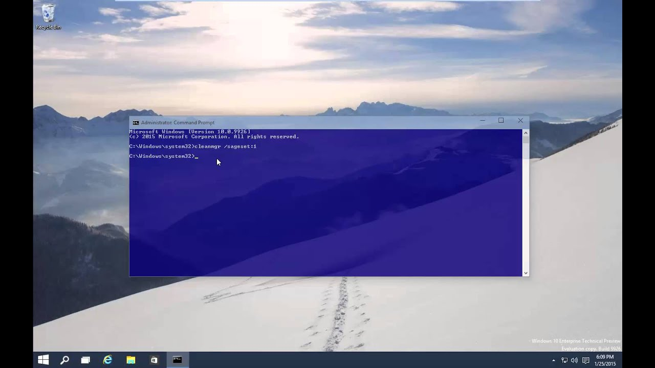 windows cleanmgr.exe - YouTube