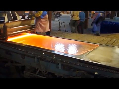Glass Making Process - Discover Heavyweight Productions | Technology Connections