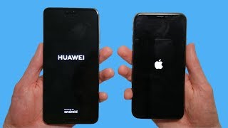 Huawei P20 Pro vs iPhone X Speed Test & Camera Comparison! thumbnail