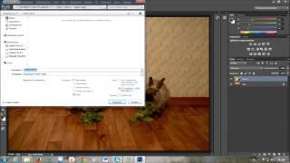 Урок Photoshop. Как из двух фото сделать одно.(Как просто и быстро с помощью Adobe Photoshop создать из двух фотографий одну., 2015-03-13T09:17:35.000Z)
