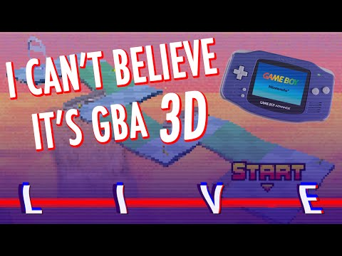 [SSFF LIVE] 8/11/16 I Can't Believe It's GBA 3D LIVE!