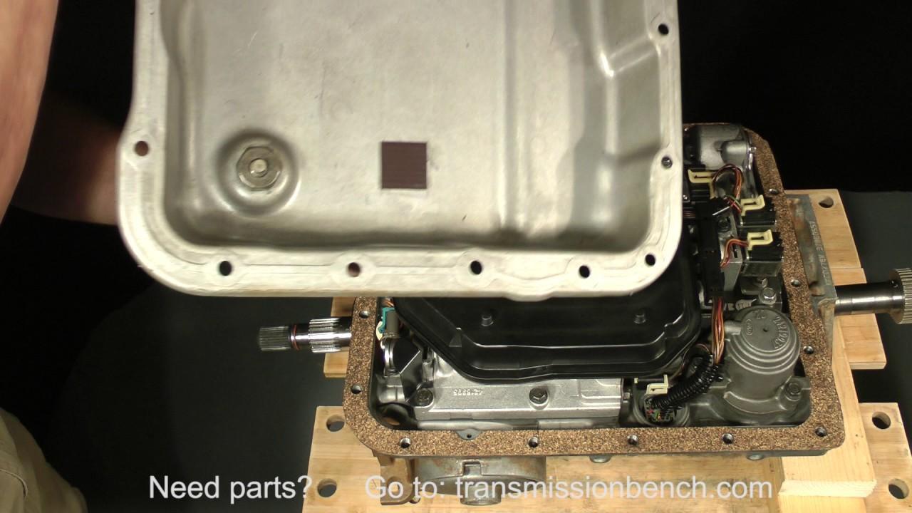 Project 4L60E Part 1 lesson 3 - Transmission Bench