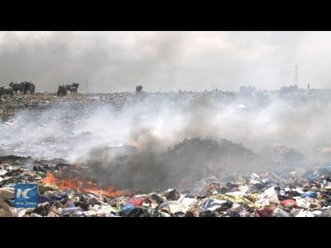 Inside Ghana's dump for E-waste