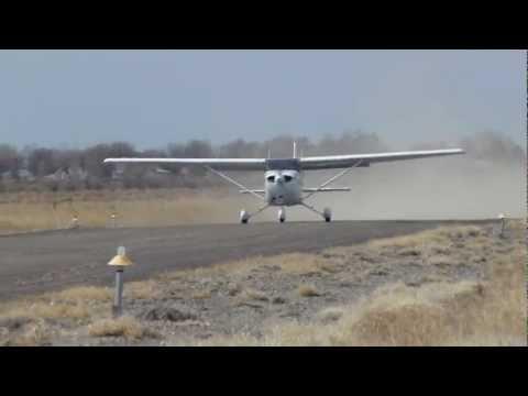 Cessna 172 180HP short field take-off @ 6U7 - YouTube