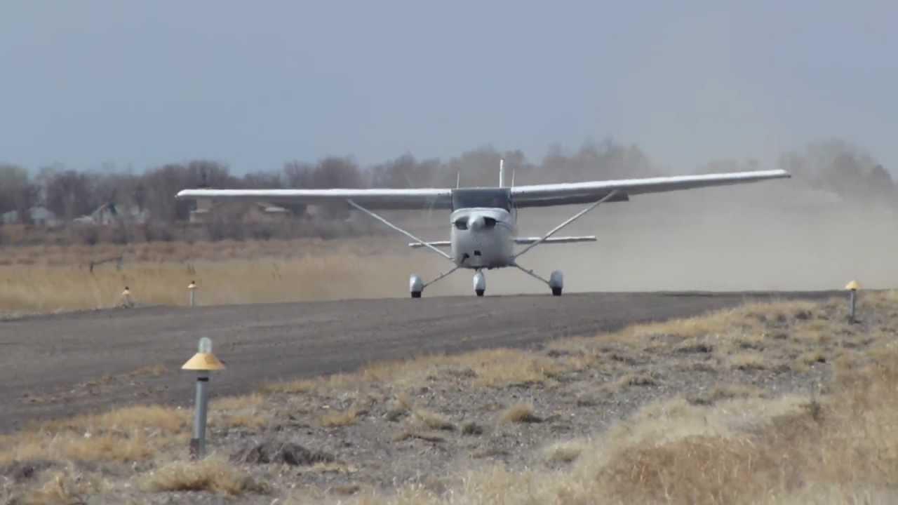 Cessna 172 180HP short field take-off @ 6U7