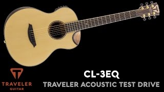 Traveler Guitar CL-3EQ Test Drive