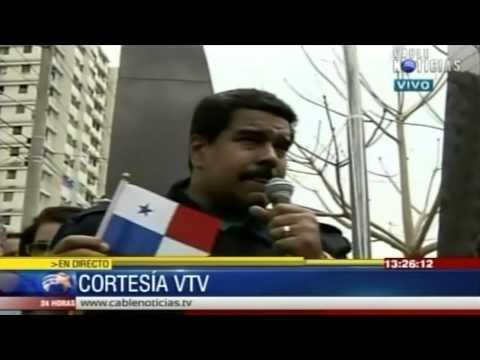 Maduro 'la embarra' en Panamá y se mete de nuevo con CNN / CABLENOTICIAS