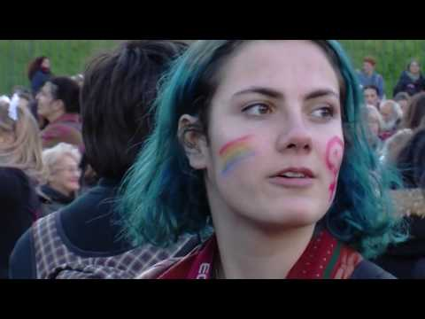 LOTTO MARZO   Sciopero Globale delle donne a Roma