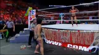 WWE RAW 25/06/12 Bikini Divas Summertime Beach Battle Royal