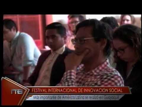 Festival internacional de innovación social más importante de América Latina se realiza en Guayaquil