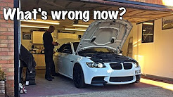 What's wrong now? BMW E93 M3 Battery install Vlog