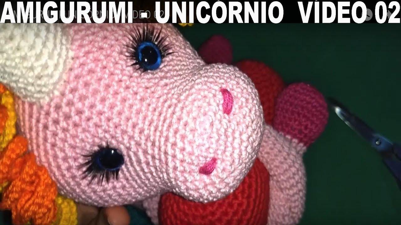 DIY Manta de apego Unicornio Parte 2 crochet/ganchillo (tutorial ... | 720x1280