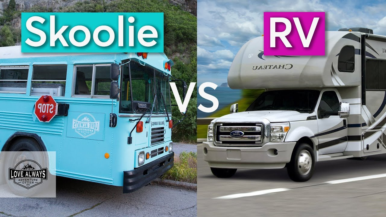 Skoolie vs RV | Why We Chose A School Bus Conversion Over A Motorhome