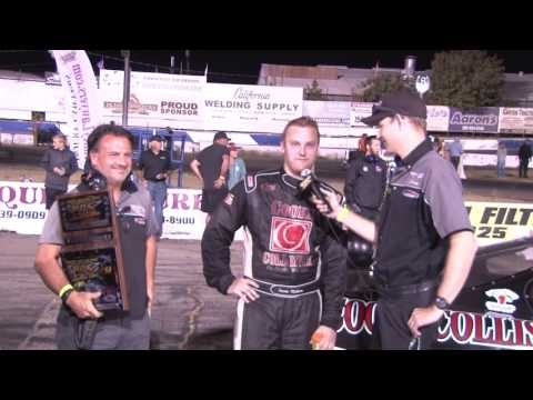 Travis Milburn | Stockton 99 Speedway Winner 9/3/2016