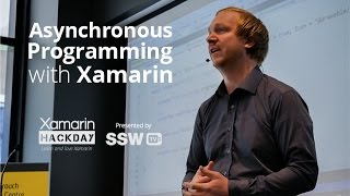 Asynchronous Programming with Xamarin | Filip Ekberg at Xamarin Hack Day Sydney