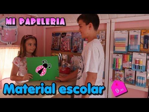 Mi Tienda de material escolar 📓🎨 Vuelta al cole en Los juguetes de Arantxa