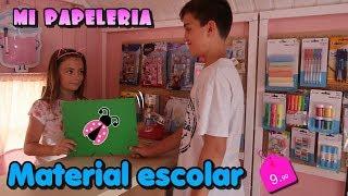 Mi Tienda de material escolar 📓🎨 Vuelta al cole en Los juguetes de Arantxa thumbnail