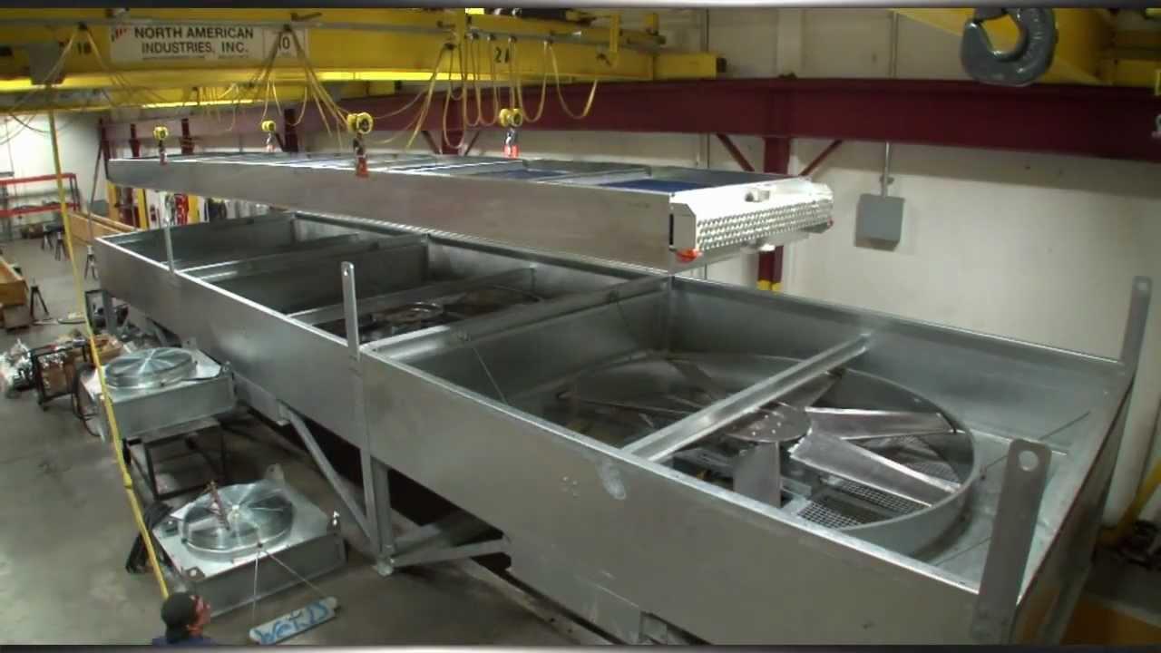 Custom Air Coolers Air-Cooled Heat Exchangers 3D Model Update