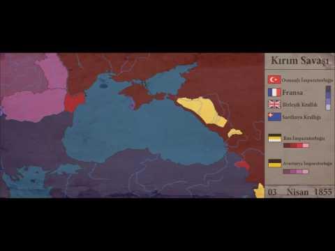 Kırım Savaşı/Crimean War (1853-1856) - Everyday(Her Gün) [Map/Harita]