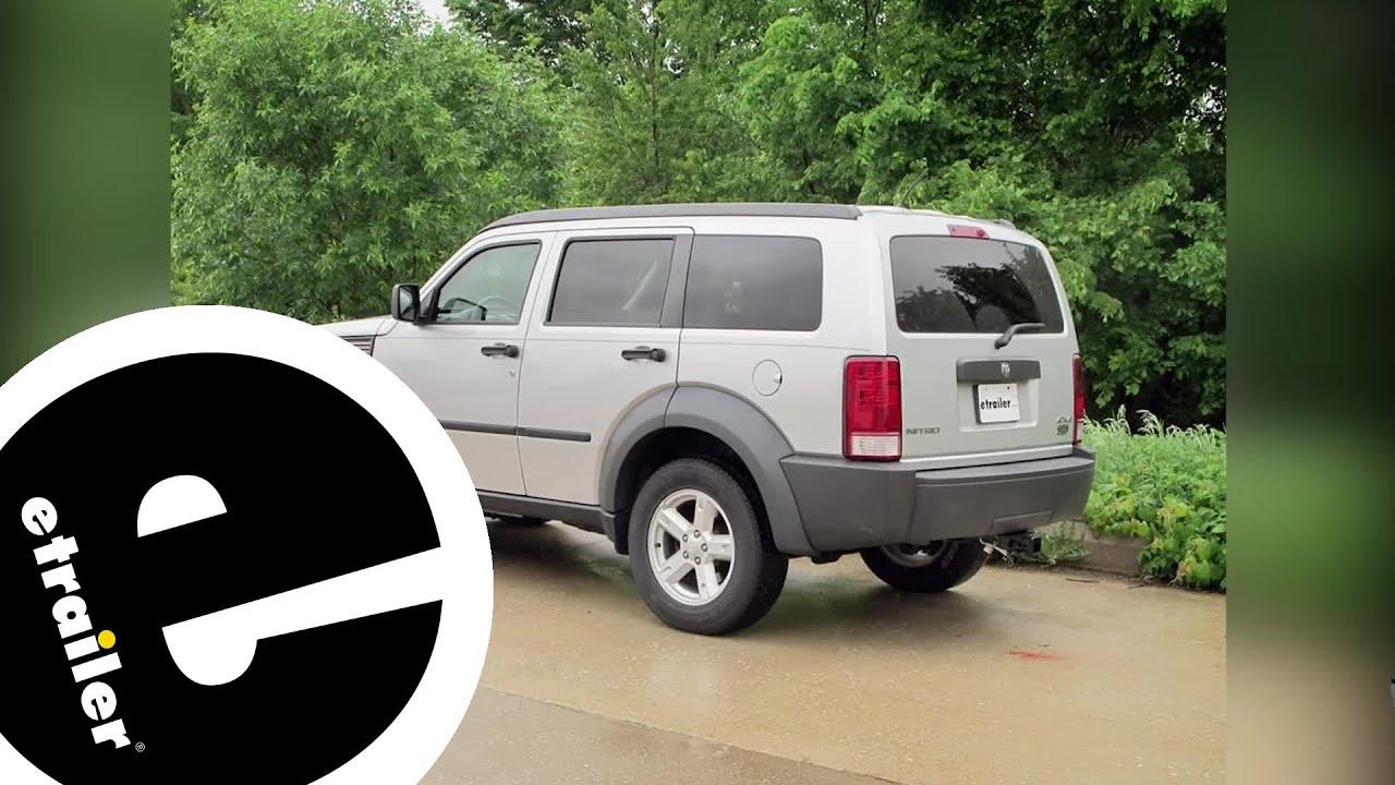 [DIAGRAM_5UK]  etrailer   Best 2007 Dodge Nitro Hitch Options - YouTube   2007 Dodge Nitro Trailer Wiring      YouTube