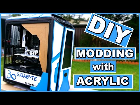 Project Infinity a DIY Water Cooled Custom PC - Computer Modding - Liquid Cooling - Part 2