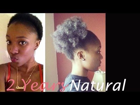 Big Chop Video 2 Year Natural Hair Journey 4c Hair