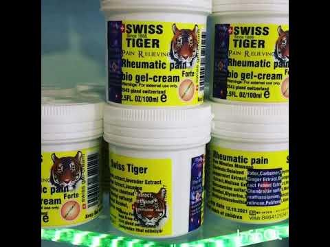 Swiss tiger bio gel cream