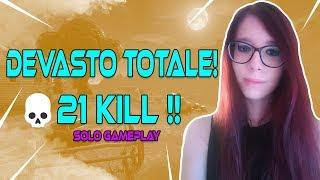 AD UN PASSO DAL RECORD! 21 KILL IN SOLO !! || FORTNITE ITA