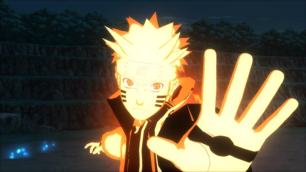 Wallpaper Naruto Bijuu Sage Mode ...