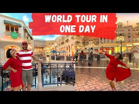 Ek din men full Europe Trip   World tour in vegas   Albeli Ritu