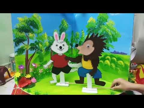 """Truyện """" Vì sao thỏ cụt đuôi"""""""