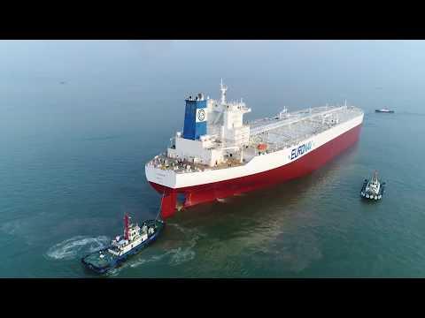 TI Europe Drydocking at Yiu Lian Dock Yards September 2017