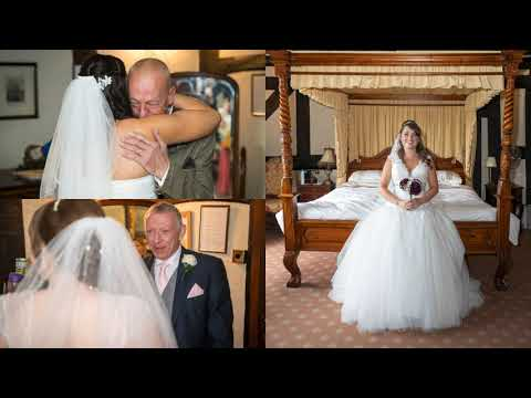 The Albright Hussey Manor, Shrewsbury - a beautiful Wedding Venue.  Created specially by SYD :-)