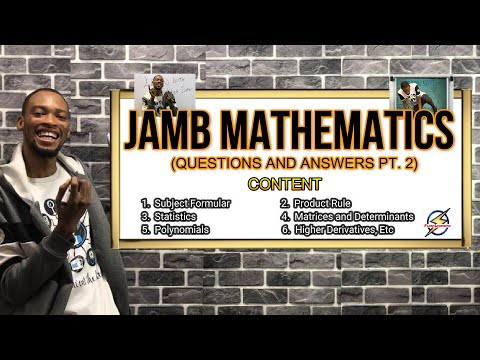 Jamb Mathematics 2022 Likely Questions & Answers (Part 3)